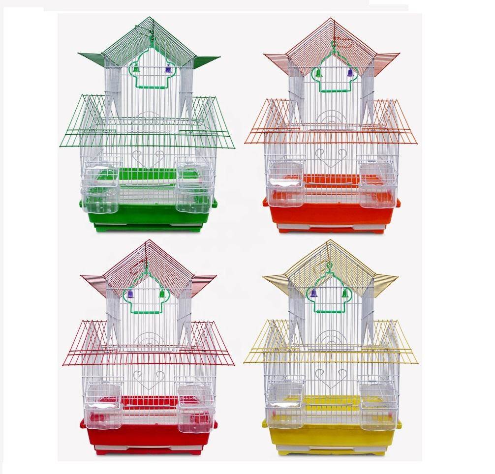 Canary breeding cages iron bird cage rectangular for transport canary