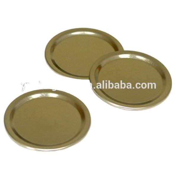 Bulk Regular Gold Canning Flat Lids