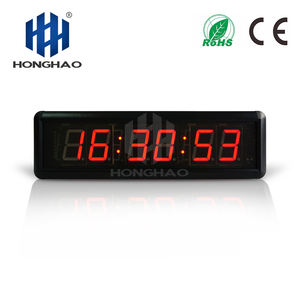 Hangzhou Honghao Nieuwe Aankomst Beste Ontwerp Mini Workout Gym Training Led Interval Timer Crossfit Timer