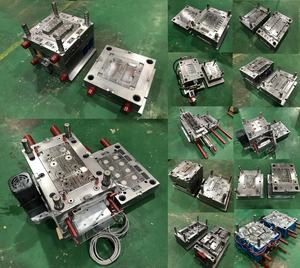 Well received custom PP PA PC ABS POM PET Injection mold Electric mould Electronics plastic shell cover frame components mold
