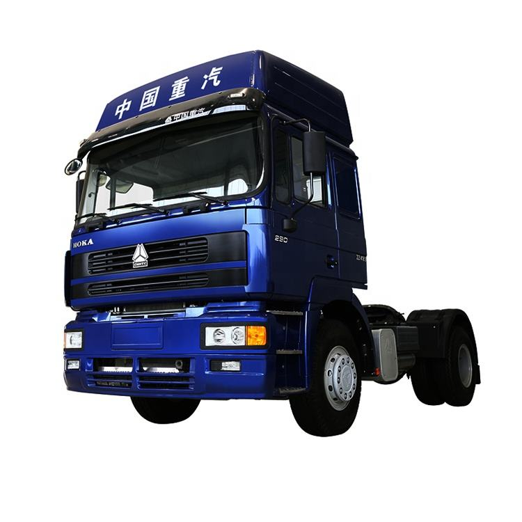 Euro 2 HOWO 4X2 Tractor Truck with Diesel Engine