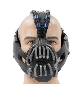 The Dark Knight Rises Máscara Bane para Adulto Cosplay Halloween X-mas Cosplay Batman Máscara Adereços Cosplay