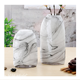 WONDER wash drawing small size glass vase tabletop vase Chinese ink and wash pattern vase wholesale