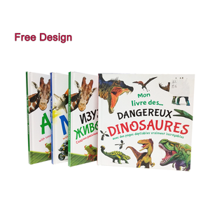 Custom High Quality Usborne Educational for Coloring Pop Up Dinosaur Children Book