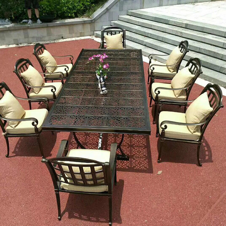 Die Cast Aluminum Outdoor Patio Furniture Table And Chair Set