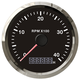 Universal Tachometer for Diesel Engine,Tractor,Electric Motors 3 3/8'' Installation Size