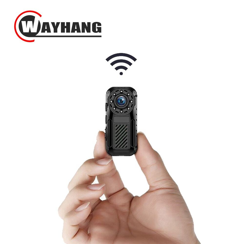 The smallest mini ip wifi camera with Free Iphone Android App Software