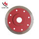 China manufacturer turbo dry diamond cutting disc cut blade for granite marble tile ceramic 110mm 115mm 125mm