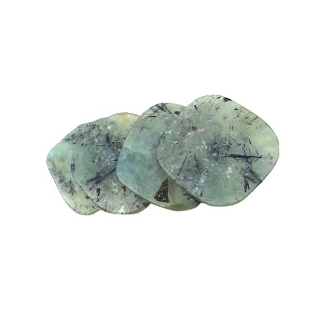 Best Quality Supplier Of Natural Green Gemstone Marble Coaster