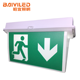 Fire Luminous Led Running Man Central Battery Ble Sided Safe Exit Sign