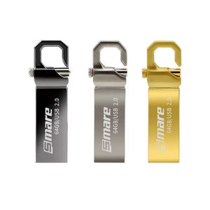 Memorias Smare C8 64 de Flash Drives USB 2.0 GB de Metal Pendrive 16GB 32GB de Memória Varas Pen Drive 128GB Logotipo Personalizado USB Stick