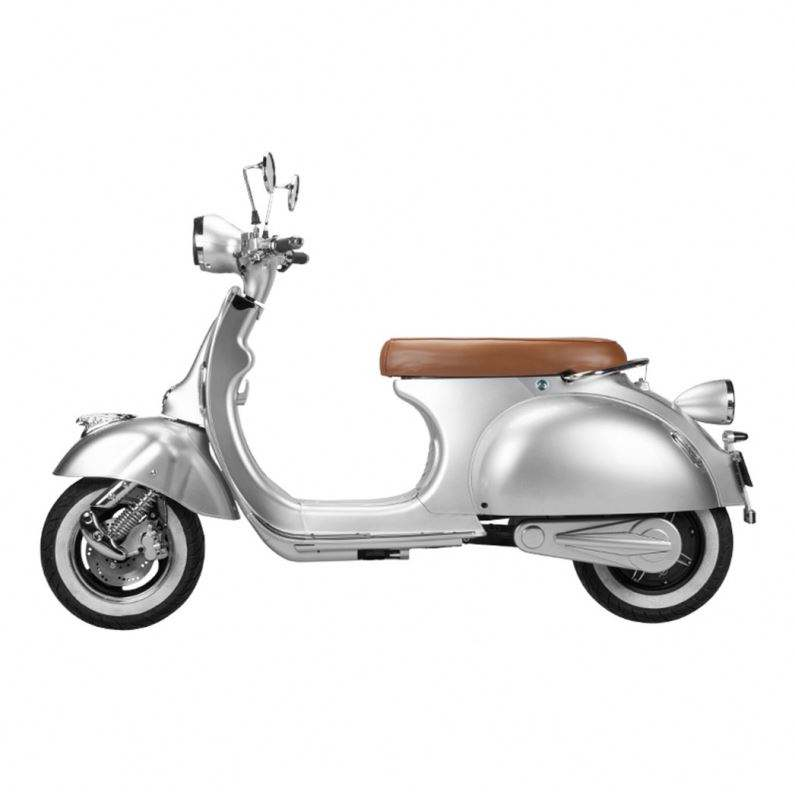 Vintage Style Retro Type EEC Model 45 KM/H 1500W Vespa Electric Motorcycle Scooter Low Price For Sale