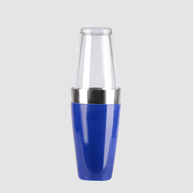 Factory Direct 28oz stainless steel plastic cocktail boston shaker
