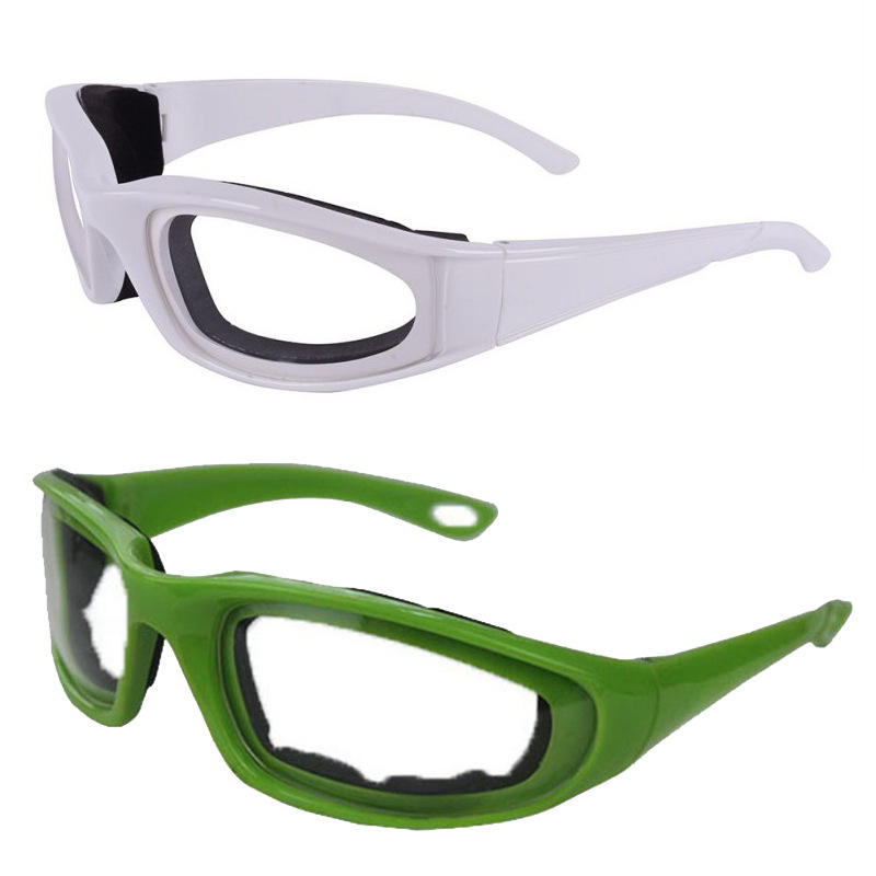 E83 Kitchen Accessories Onion Eyes Glass Goggle Protector Cooking Frames Onions Safety Goggles Kitchens Glasses