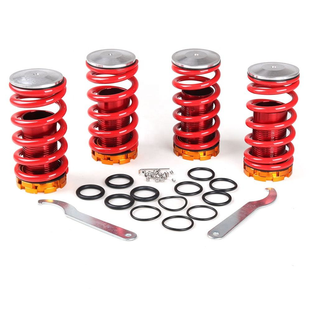 Coilover Springs Kit for Honda for Civic 88-00 Red available Aluminum Coilover Suspension Coilover Shock