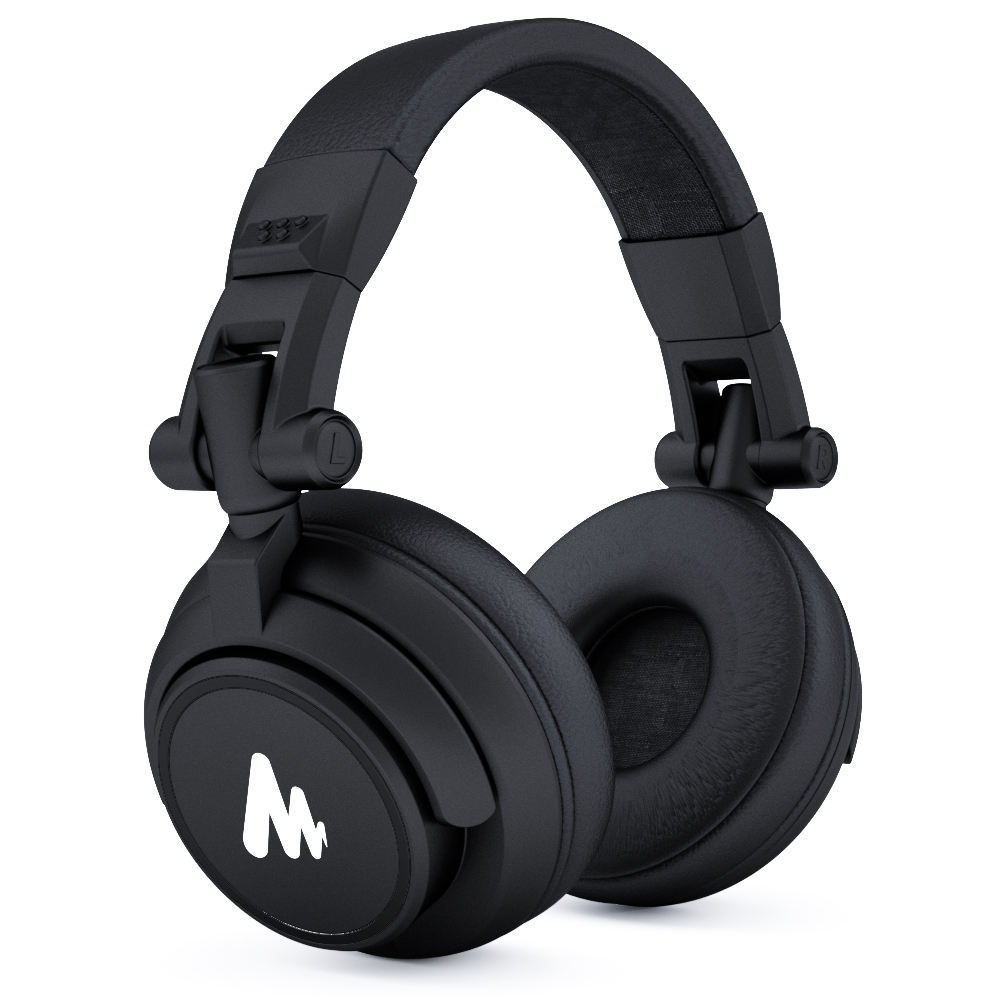 MAONO DJ Headphones For Microphone or Sound Mixer Gamer Headphones for Studio Microphone Real Time Monitor Headphone