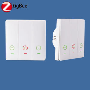 Bilisty 2019 300w led dimmer switch 2 vie zigbee
