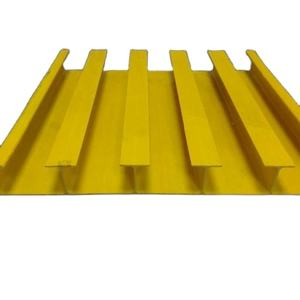 Durable fiberglass plank frp plank for Plastic Flooring deck cooling