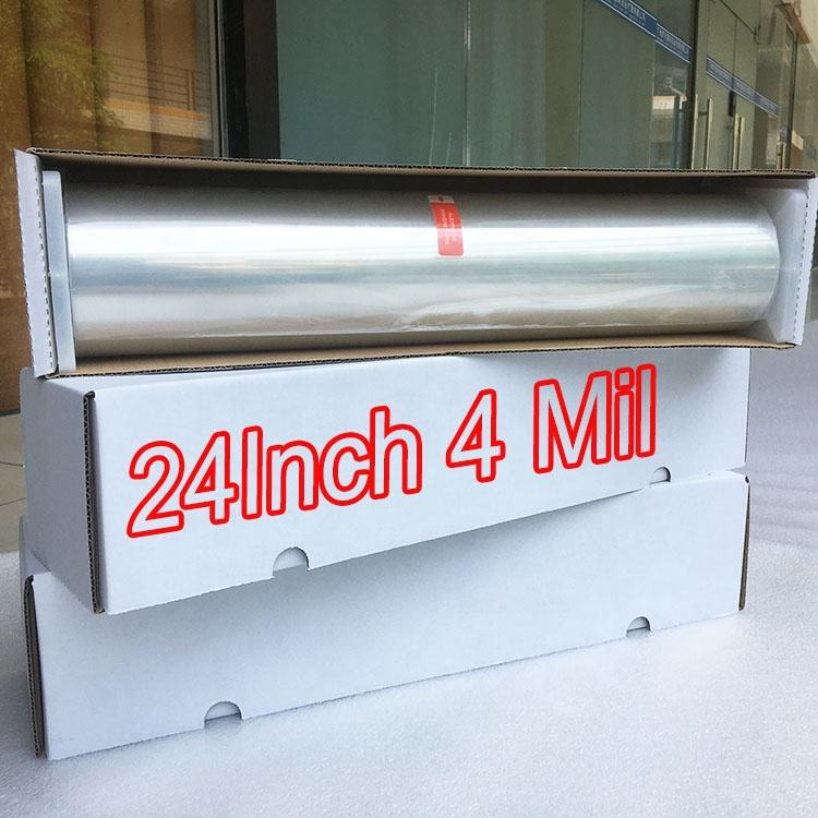 Big Sale 24 Inch 4 Mil Safety Stickers For Windows Clear Protection Building Window Safety Film Security