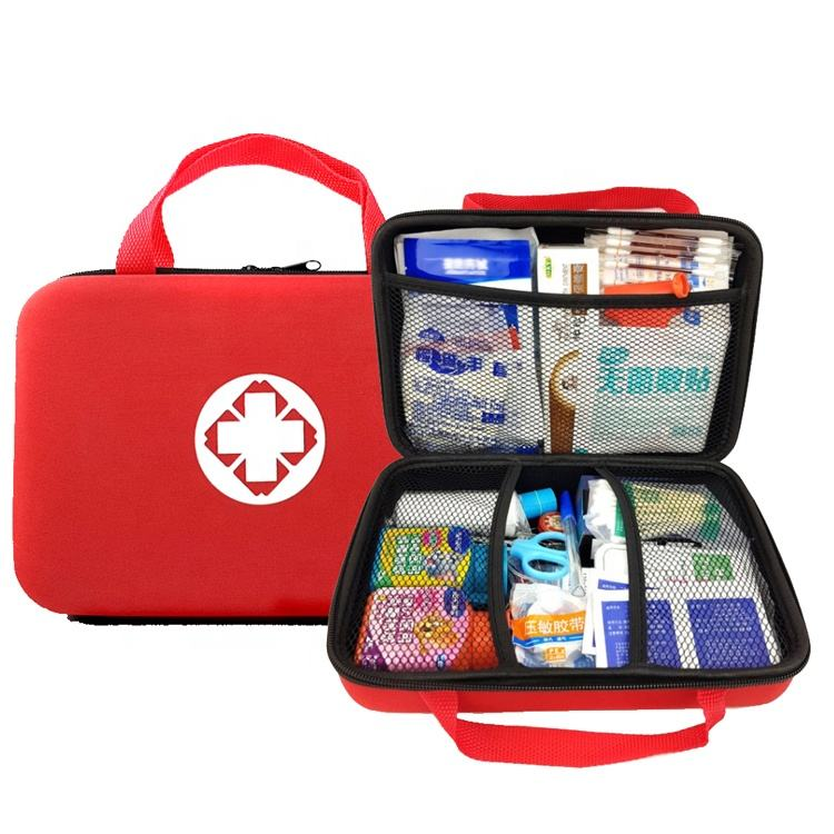 Family office workshop medical EVA first aid kit provides a full set of high-quality portable customized accessories
