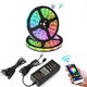 5M 10M Mobile Phone Control Dimmable Flexible Waterproof RGB Bluetooth Wifi LED Strip Lights with BT Mesh