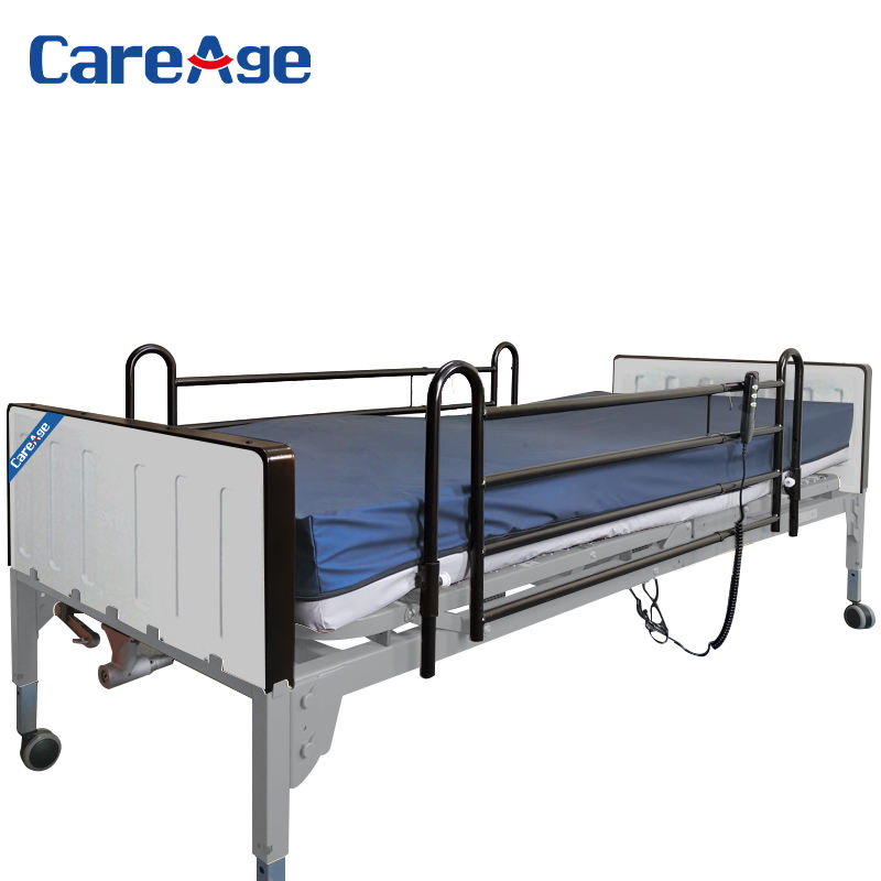 2020 CareAge 74710 electronic intelligent home furniture adjustable wooden hospital equipment list multifunctional nursing bed