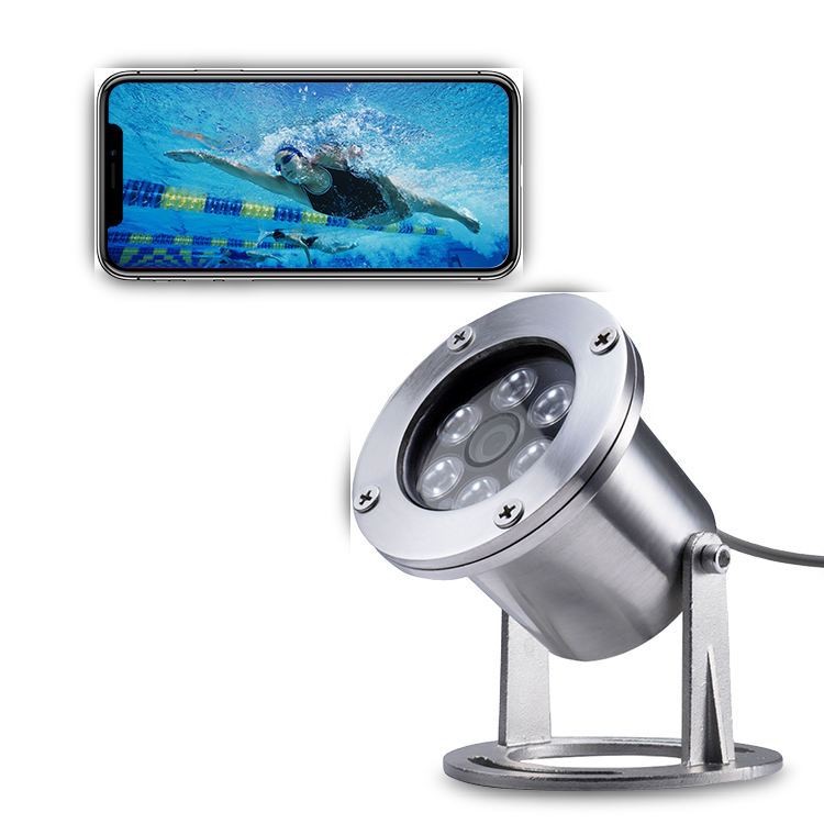 New Arrived 10M cable IP68 Waterproof 1080P POE Lens 3.6MM IP underwater cctv camera fish finder