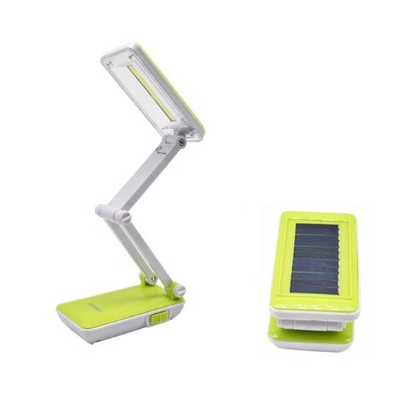 rechargeable COB desk reading lamp solar powered rechargeable cob LED reading table light flexible reading lamp