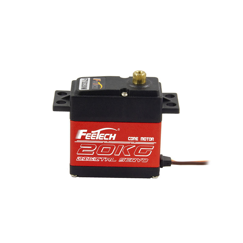 2020 Waterproof 180-270 Degree 20KG 25T Arm full metal gear Digital RC Servo RC Car servo