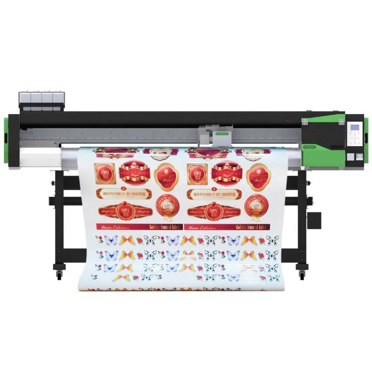All in 1 vinyl printer and cutter machine