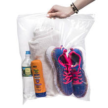 Custom Clear Zipper Packing Clothing Bag Zip Lock Plastic Bags