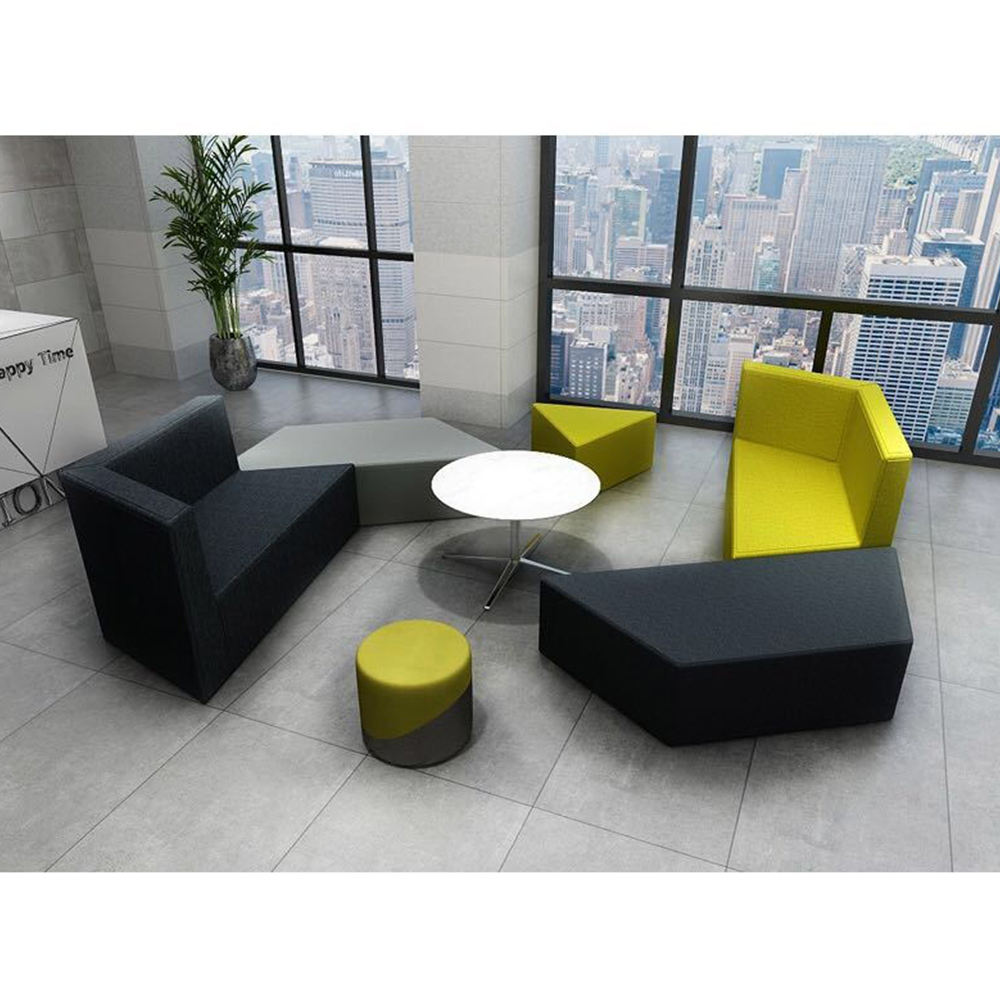 Modern modular/sectional break out sofa salon sofa combination office Break out Area Seating