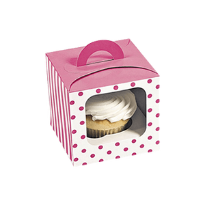 High Quality disposable recycled cup box cardboard package paper for cupcakes