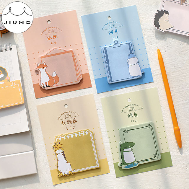30 pcs/lot 8 Design Animal Cat Panda Cute Sticky Notes Post Memo Pad School Supplies Planner Stickers Paper Bookmarks Stationery