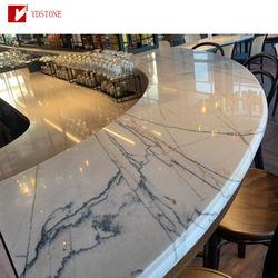 Quartz Marble vanity tops kitchen cabinet dolomite natural stone countertop