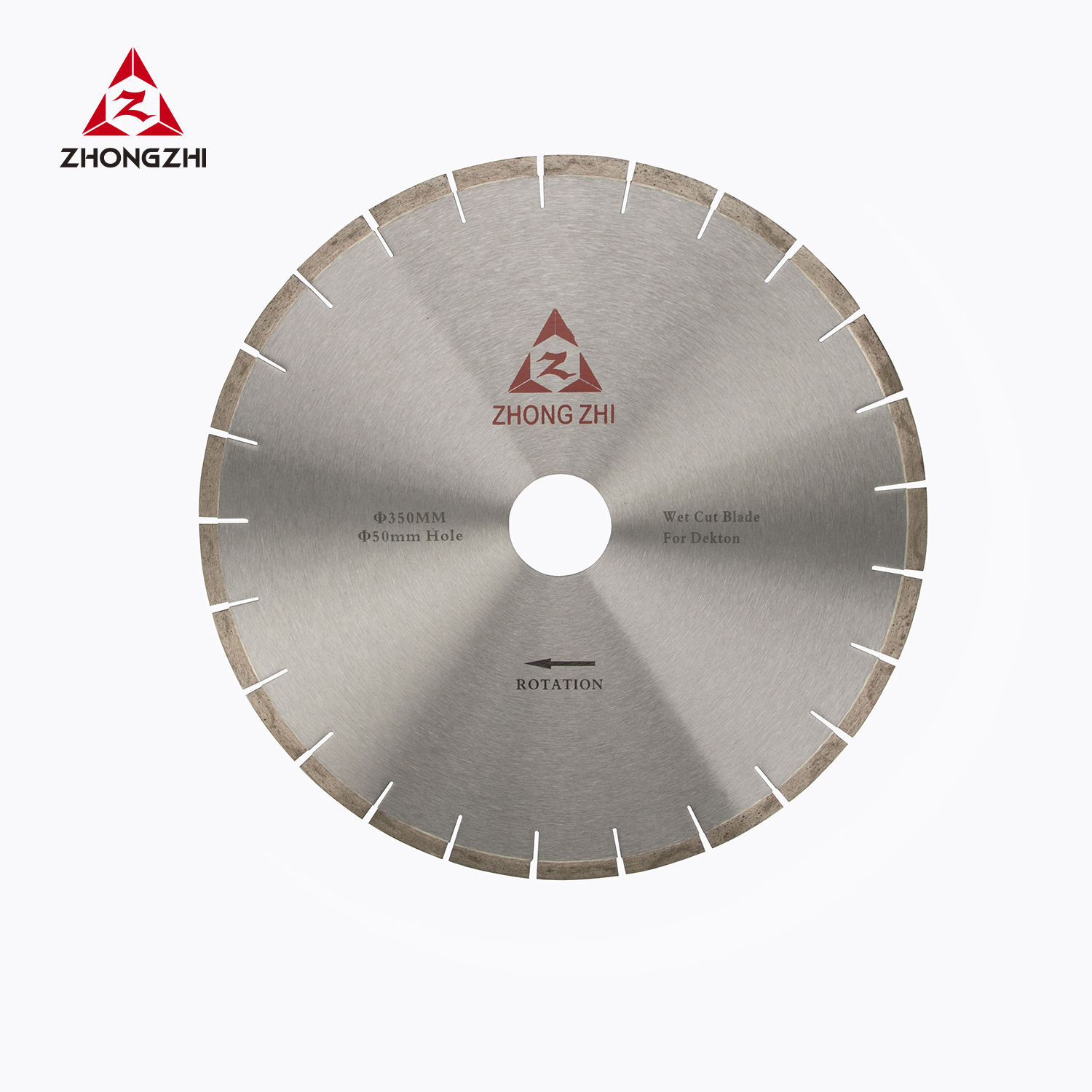 350mm Brazed Diamond Stone Tools, Diamond Saw Blade for Natural Stones Marble Granite Limestone Dekton