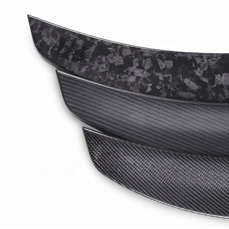 Rear Wing Carbon Fiber Car Spoilers Auto Spoiler for Tesla model 3