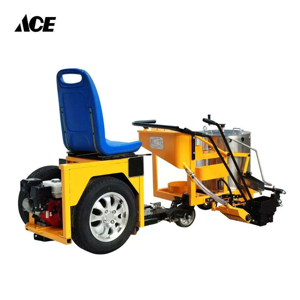 Traffic Painting Line Hand Push Road Marking Machine for Sale