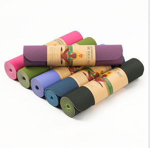 TPE Yoga Mats Anti-slip Blanket Gymnastic Home Sport Health Lose Weight Training Fitness Exercise Pad Women Sport Yoga Mat