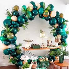 New Bottle Green balloon 12inch round shaped party  balloon for wedding balloon arch