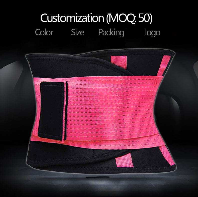 Waist Trainer BeltためWomen Breathable Waist Cincher Trimmer Slimming Body Shaper Belt Sport Girdle Belt