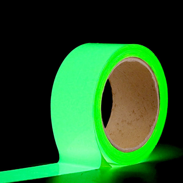 50mm x 5m Luminous Fluorescent Night Self-adhesive Safety Sticker Tape