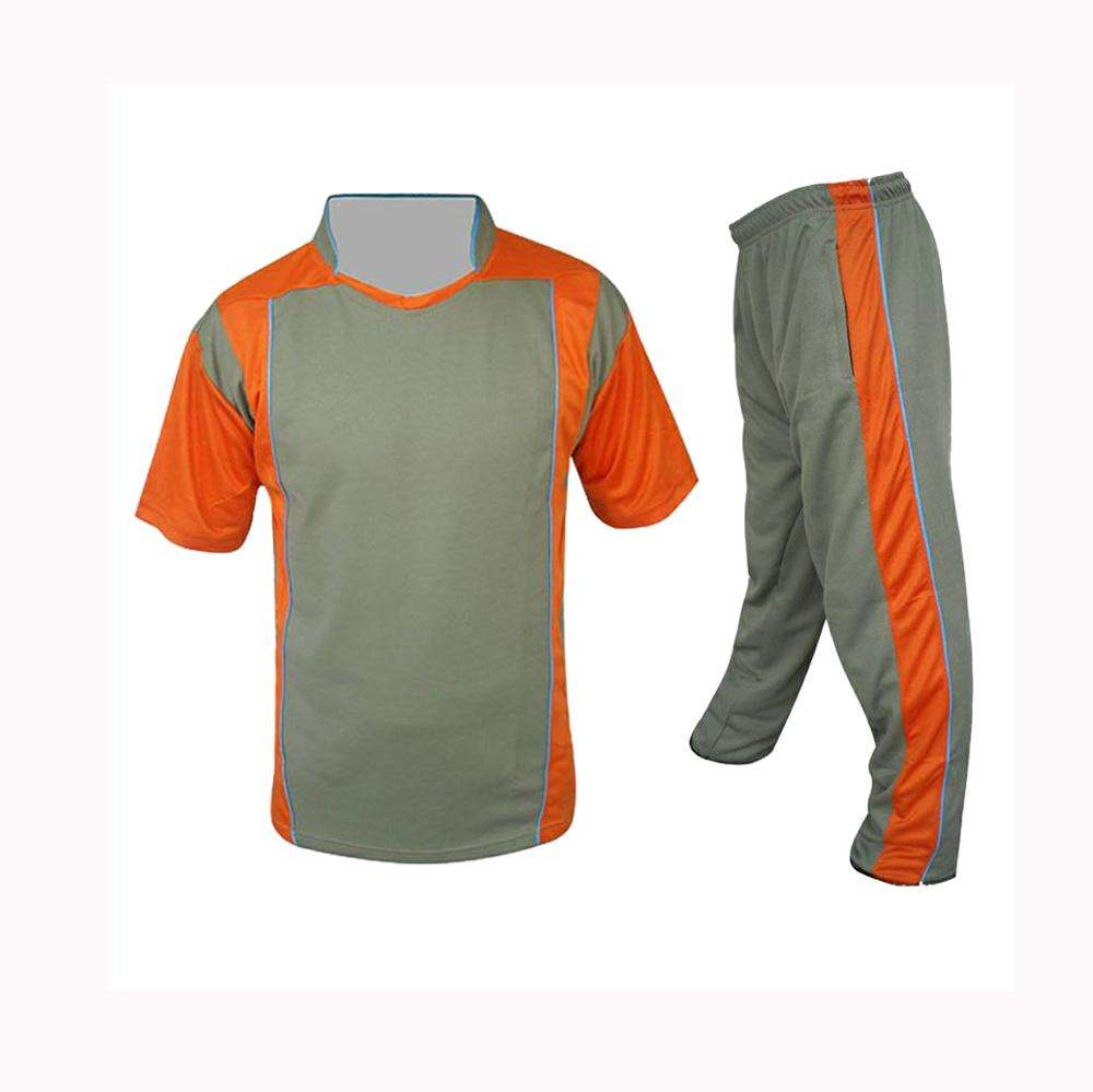 Striped pattern sports design your own idea cricket uniform sportswear