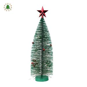 China Leverancier Kunstmatige Sterren Mini Kerstboom Voor Outdoor Decor