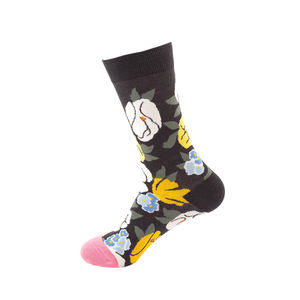 2020 Spring Wholesale Custom Logo Colorful Fashion Men Dress Socks With Designs