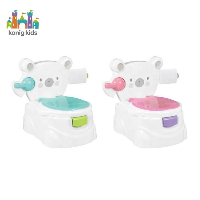 Multicolor Potty Training Seat For Babies Eco-Friendly Baby Potty Chair