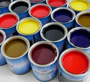 Chinese Factory Wholesale Car Coating 1k Auto Base Colors Car Refinishing Paint for 2K Solid Color with excellent coverage