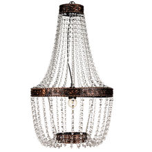 Vintage lamp light decoration acrylic chandelier lighting crystal NS-120213