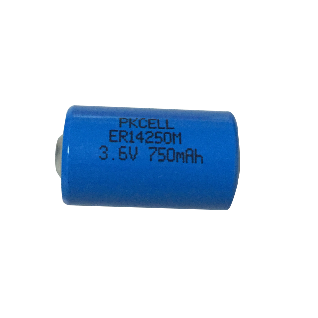 1/2AA 3.6v lithium battery replacement ls14250 er14250m 750mah