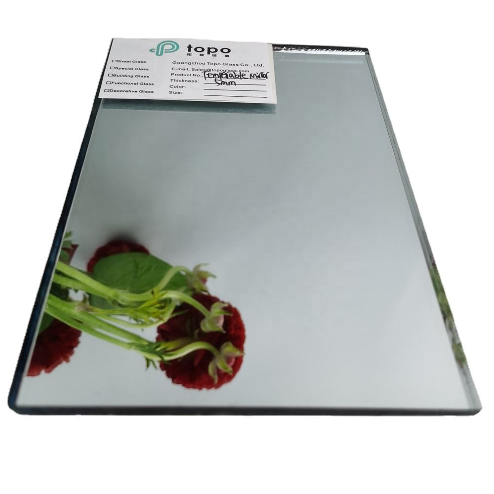 2mm 3mm 4mm 5mm 6mm 8mm 10mm 12mm Anti-oxidation Nano Temperable Mirror Glass Samples (M-T)